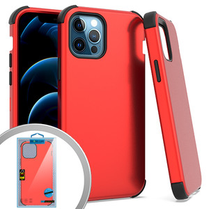 iPhone 12/12 Pro (6.1) MM Triple Layer Case Red
