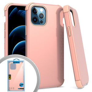 iPhone 12/12 Pro (6.1) MM Triple Layer Case Rose Gold