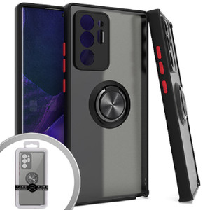 Samsung A21S MM Magnet Ringstand Case Black