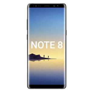 Samsung Note 8 LCD With Touch Black