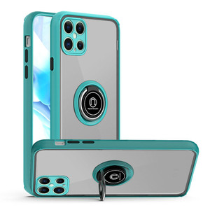 Samsung S21 Ultra Magnetic Ring Stand Case Teal