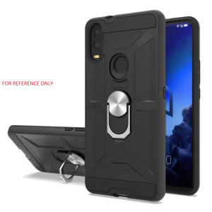 Lg K22 MM Ring Stand Case Black