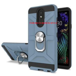 Lg K22 MM Ring Stand Case Navy
