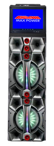 "Party Speaker MPD12207TS With 12"" WiFi Screen Black"
