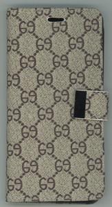 iPhone 12/12 Pro MM Portfolio Wallet Design Case Beige