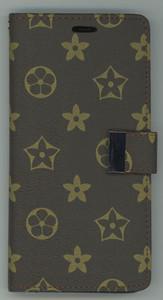 iPhone 12/12 Pro MM Portfolio Wallet Design Case Brown