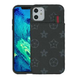 iPhone 11 MM Pattern Design Case Black