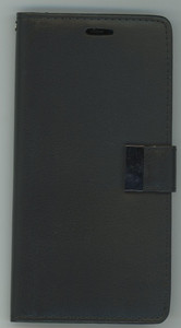 iPhone 12/12 Pro MM Premium Folio Wallet Case Black