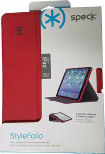 iPad Air SPECK Style Folio Wallet Red