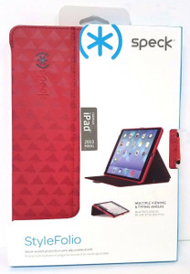 iPad Air SPECK Style Folio Wallet Triangle Red