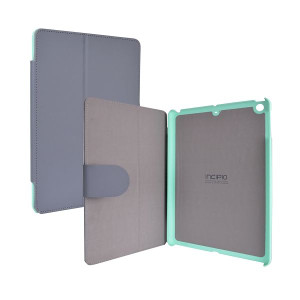 Incipio Lexington Kickstand Folio Case Grey And Teal