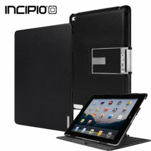 iPad Air Incipio Flagship Folio Case Carbon Fiber Black