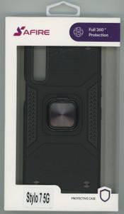 Lg Stylo 7 5G MM Triple Layer Magnet Case Black