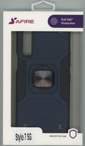 Lg Stylo 7 5G MM Triple Layer Magnet Case Navy