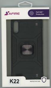 Lg K22  MM TRIPPLE LAYER MAGNET CASE Black