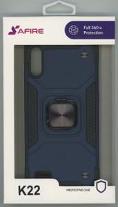 Lg K22  MM Triple Layer Magnet Case Navy