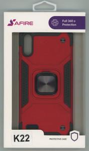 Lg K22  MM Triple Layer Magnet Case Red