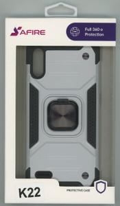 Lg K22  MM Triple Layer Magnet Case Silver