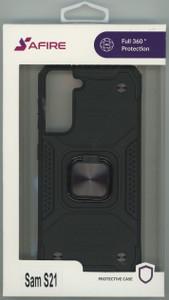 Samsung S21 MM TRIPPLE LAYER MAGNET CASE Black