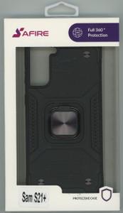 Samsung S21+ MM TRIPPLE LAYER MAGNET CASE Black