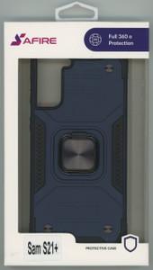 Samsung S21+ MM TRIPPLE LAYER MAGNET CASE Navy