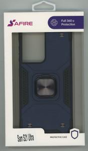 Samsung S21 Ultra MM TRIPPLE LAYER MAGNET CASE Navy