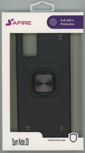 Samsung Note 20 MM Triple Layer Magnet Case Black