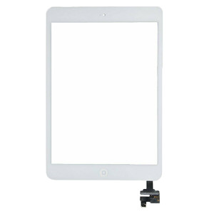iPad Mini 1/2 Digitizer + Home Button White