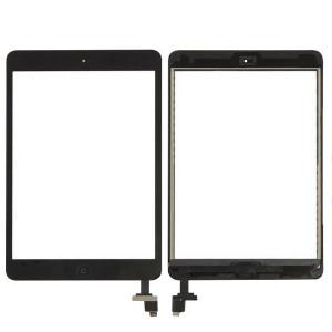 iPad Mini 1/2 Digitizer + Home Button Black