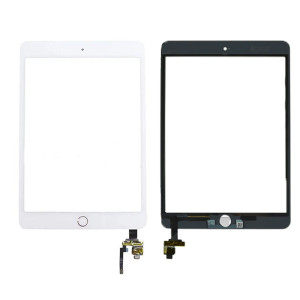 iPad Mini 3 Digitizer + Home Button White