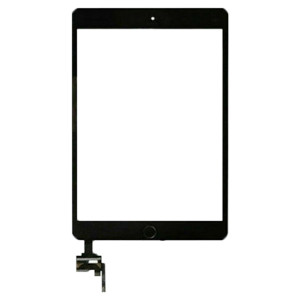 iPad Mini 3 Digitizer + Home Button Black