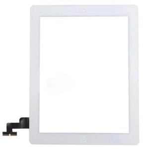 iPad 2 Digitizer + Home Button White