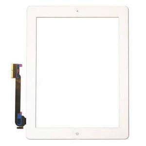 iPad 3 Digitizer + Home Button White