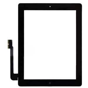 iPad 4 Digitizer + Home Button Black