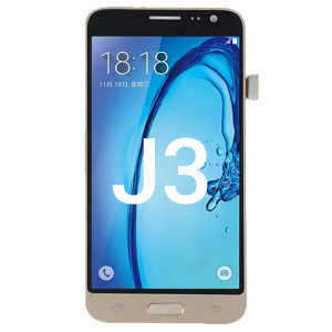Samsung J3 LCD With Touch Gold