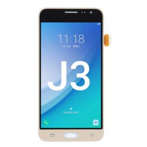Samsung J3 LCD With Touch White