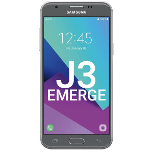 Samsung J3 Emerge LCD With Touch Silver