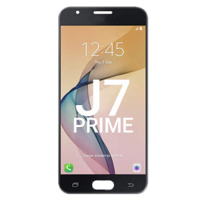 Samsung J7 Prime LCD With Touch G610 Black