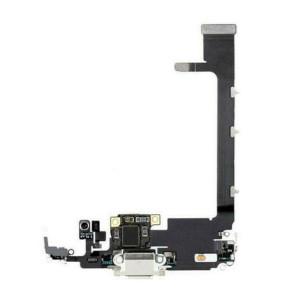 iPhone 11 Pro Max Charging Port Flex Silver