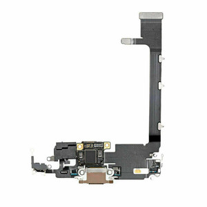 iPhone 11 Pro Max Charging Port Flex Gold