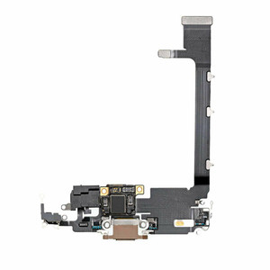 iPhone 11 Pro Charging Port Flex Gold