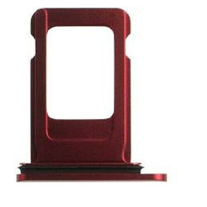iPhone 11 Sim Tray Red