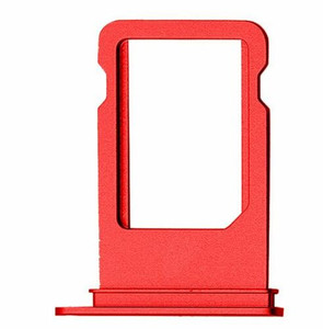 iPhone 8 Plus Sim Tray Red