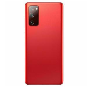 Samsung S20 FE 5G Back Door w/ Camera Lens Red