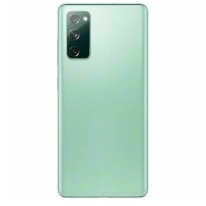 Samsung S20 FE 5G Back Door w/ Camera Lens Green