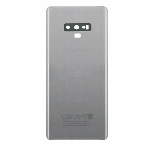 Samsung Note 9 Back Door Silver With Camera Lens