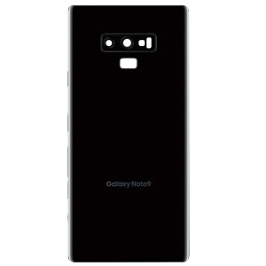 Samsung Note 9 Back Door Black With Camera Lens