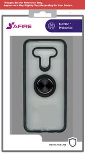 Lg K22 MM Clear Magnet Ringstand Black
