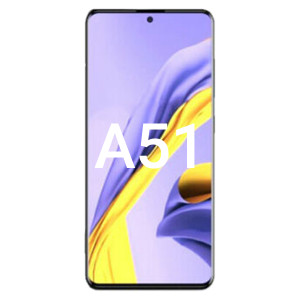 Samsung A51 2019 SM-A515 LCD with Touch Black OLED