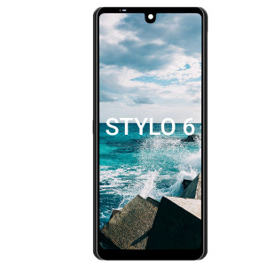 LG Stylo 6 LCD with Touch Black